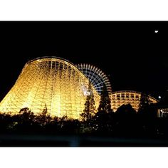 Instagram【rumi_stagram】さんの写真をピンしています。 《🎢🎪🎡 #amusementpark #amusement #enjoy #park #excite #exciting #funny #enjoyday #nice #great #happy #moment #moments #memory #niceday #happyday #nightview #illumination #beautiful #fantastic #instaday #遊園地 #夜景 #ナガスパ #ナガシマリゾート #ホワイトサイクロン #スチールドラゴン》