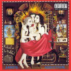 "Jane's Addiction, ""Ritual de lo Habitual"" 58 Vintage Ads For Alt-Rock Classics The Smashing Pumpkins, Nick Drake, Lps, Jane's Addiction, Beatles, Frank Zappa, Coldplay, Green Day, My Chemical Romance"
