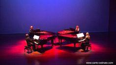 Canto Ostinato live in Veldhoven 2012 by Piano Ensemble  http://en.wikipedia.org/wiki/Canto_Ostinato