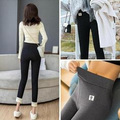 800+Sold, Hot Sales!! 🔥Real warm high content cashmere!🔥 🔥Warm, fluffy and thick to keep the body warm and prevent heat loss. Get yours Before its SOLD OUT! Enjoy this New Year with Neulons.com Grab this OFFER Now!! Winter Leggings, Warm Leggings, Skirt Leggings, Seamless Leggings, Leggings Are Not Pants, Cashmere Leggings, Cashmere Wool, Warm Pants, Windbreaker