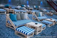 Pallet Outdoor Seating Arrangment                                                                                                                                                                                 More