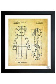 Lego man blueprint