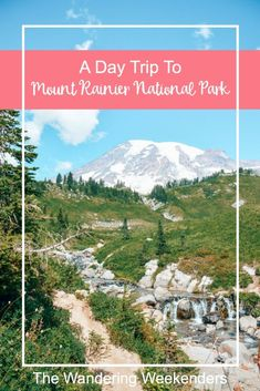 Is it possible to take a day trip to Mount Rainier National Park from Seattle? Yes it is! A tour with Evergreen Escapes is the perfect way to see Mount Rainier National Park in a day!