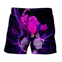 Dragon Ball Kid Buu Madness Destruction Dope Urban Style Shorts  #Dragon #Ball #KidBuu #Madness #Destruction #Dope #Urban #Style #Shorts