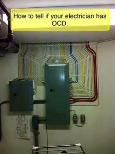 How to tell if your electrician has OCD