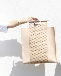 Studio 11:11 leather tote bag - Made in Melbourne | @andwhatelse