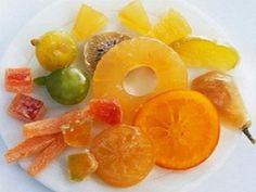 Como fazer Fruta Cristalizada