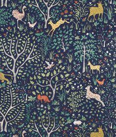 Shop Robert Allen @ Home Folkland Admiral Fabric at onlinefabricstore.net for $47.05/ Yard. Best Price & Service.