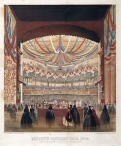 """View of the Academy of Music as Seen from the Stage, published in """"Henry McCloskey's Manual of 1864."""" © Brooklyn Museum, Brooklyn, NY. (BMA-1657)"""