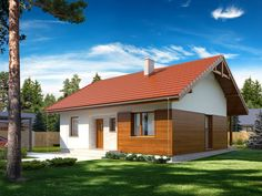 projekty bungalovov do 80 Rio 2, My Dream, Shed, New Homes, Cottage, Outdoor Structures, Outdoor Decor, Design, Home Decor