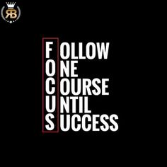 Follow One Course Until Success(ful). This is what my best voice instructor always told me!