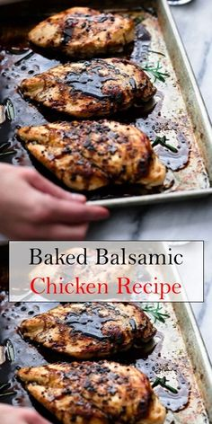 Keto Breakfast Recipes Eggs And Bacon Baked Balsamic Chicken, Baked Chicken Recipes, Cooking Recipes, Healthy Recipes, Keto Recipes, Dinner Recipes, Dinner Entrees, Lunch Recipes, Breakfast Recipes