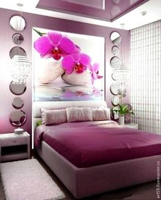 45 Purple Room Ideas
