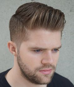 20 Exquisite Dapper Haircuts – An Easy Gentleman's Style Board: Hair Styles Men Side Part Haircut, Comb Over Haircut, Fade Haircut, Dapper Haircut, Gentleman Haircut, Modern Hairstyles, Latest Hairstyles, Hairstyles Haircuts, Cool Haircuts
