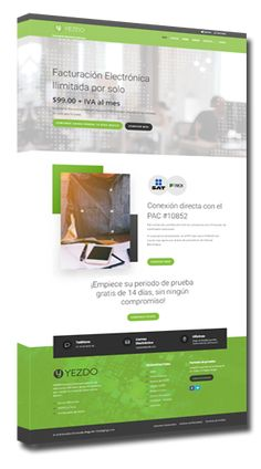 Pagina Web desarrollada por HostingPage.Com   URL: yezdo.com  Plataforma: CMS Manejador de Contenidos  MySQL y PHP  Año: 2018 Php, Design Portfolio Layout, Wedges, Design Web