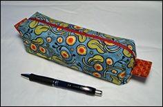 Bits and Pieces: Pencil Case Tutorial
