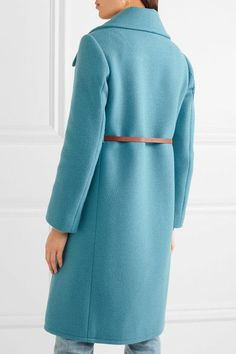 Chloé | Iconic belted wool-blend coat | NET-A-PORTER.COM
