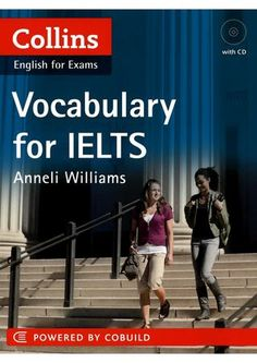 """Cover of """"Collins vocabulary for ielts book"""""""
