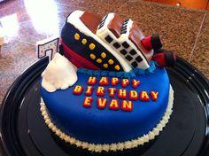 Titanic cake!