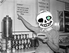 Sans in the genocide run be like