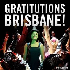 You have been positively thrillifying Brisbane! Next stop - Perth and your last chance to see WICKED in Australia! #WICKEDinOZ #WICKEDmusical #Brisbane #Perth #LastChance