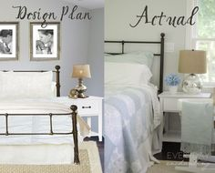 Master Bedroom Progress & Birch Lane Cottage Headboard
