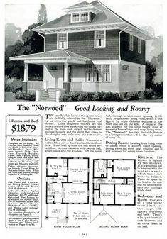 Very nice plan - only missing a full bath and guest room on the first floor, needs a (much) bigger kitchen, a master bath, and possibly another bedroom on the second floor