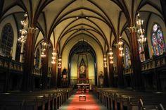 Norway-Drammen-Bragernes Church