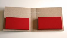 """PTI Card Holder Tutorial10 by Laurie Schmidlin to fit 4"""" envelopes and 3 3/4"""" cards"""