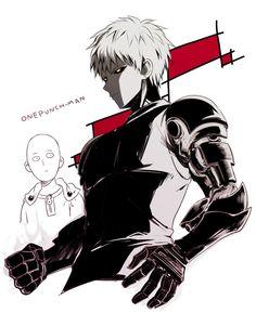 OnePunch Man #opm #genos #saitama