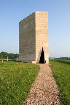 Zumthor's Bruder Klaus chapel.