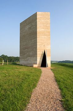 rother Claus Chapel, Mechernich, Germany by Peter Zumthor