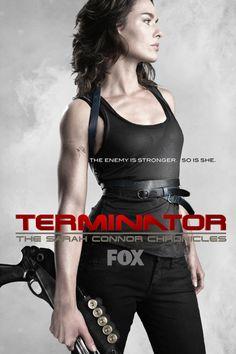 Terminator: The Sarah Connor Chronicles - starring lena headey Lena Headey, Summer Glau, Picture Movie, Movie Tv, The Sarah Connor Chronicles, Terminator Movies, John Connor, Sci Fi Tv, Badass Women