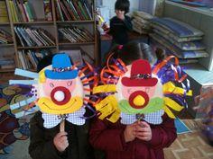 αποκριατικες κατασκευες για παιδια - Google Search