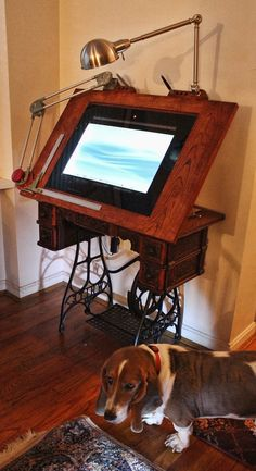 The Way Back Drawing Machine  Digital Drafting Table by woodguy32, $6500.00