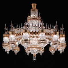 Royal palaces demand extraordinary lighting and that is exactly where one of our strengths lies. The realization of an idea and the love of the many details is the quality that interior designers worldwide rely on at Dotzauer. 💡 Chandelier Dia 4000 mm, Height 4000 mm Royal Palace, Chandelier, Ceiling Lights, Crystals, Palaces, Lighting, Designers, Hotels, Interior