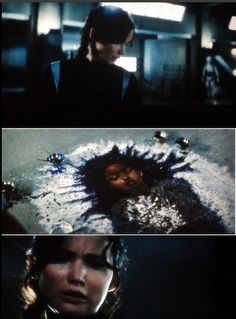 """""""'Actually, I painted a picture of Rue,' Peeta says. 'How she looked after Katniss had covered her in flowers.'"""" - Katniss and Peeta (Catching Fire, Chapter 17)"""