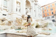 Fashion at the Trevi Fountain | Margo & Me
