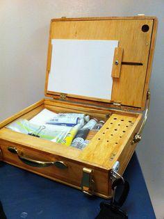 Home made Pochade box. - WetCanvas