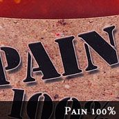 Original Juan's 100% Pain Hot Sauce. Like poison--never had anything so terribly on fire.