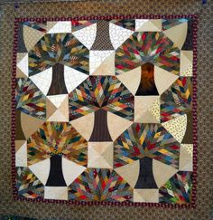 In Your Bonnet Quilts is now Kerry Stitch Designs . The Acorn's Promise quilt pattern is available in my new Etsy shop at www. Fall Quilts, Scrappy Quilts, Mini Quilts, Patchwork Quilting, Quilting Projects, Quilting Designs, Patchwork Designs, Patchwork Ideas, Quilt Modernen