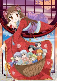 Fruits Basket.  I don't know if I have pinned this yet.