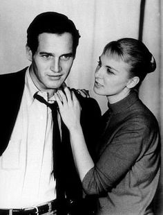 If you were born in Paul Newman and his wife Joanne Woodward were one of the most popular couples in Hollywood. They had 2 movies come out that year Rally Round the Flag Boys and The Long Hot Summer - they also were on TV on Playhouse Golden Age Of Hollywood, Vintage Hollywood, Classic Hollywood, 50s Vintage, Hollywood Couples, Celebrity Couples, Paul Newman Joanne Woodward, Le Club, Couple