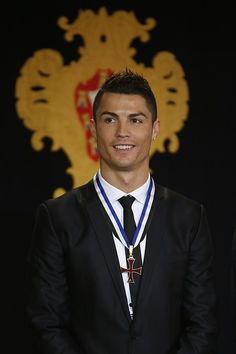 Cristiano Ronaldo.   Definitive Proof That Soccer Players Get Better-Looking With Age, Damn he's fine!