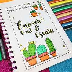 Bullet Journal School, Bullet Journal Ideas Pages, Bullet Journal Inspiration, Notebook Art, Notebook Covers, Nail Designer, Beautiful Notes, School Notebooks, Decorate Notebook