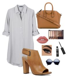 """Untitled #8"" by allieproffer ❤ liked on Polyvore featuring United by Blue, ALDO, Givenchy and Lime Crime"