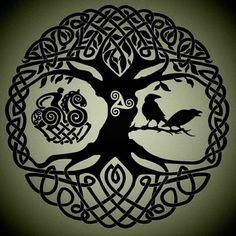 Dispenso os corvos, e a outra imagem, mas essa árvore da vida tá sensacional. Quem sabe um dia...