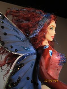 OOAK wonderful Fairy Art Doll Sculpture by Regina Russo :) http://www.ebay.com/usr/regin-russ  https://www.facebook.com/pages/OOAK-Art-Doll-by-Regina Russo -dreams-timeless/1406541212987263?sk=info&tab=page_info&edited=short_desc