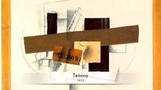 George Braque (1940) collages , bridges between physical actuality and reality