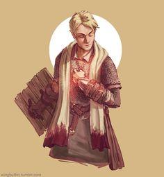 Lyre, Cleric of Ilmater by WingBuffet.deviantart.com on @DeviantArt